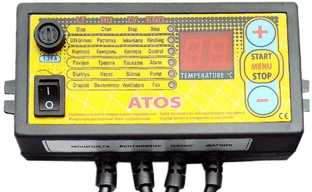 ATOS автоматика для котла