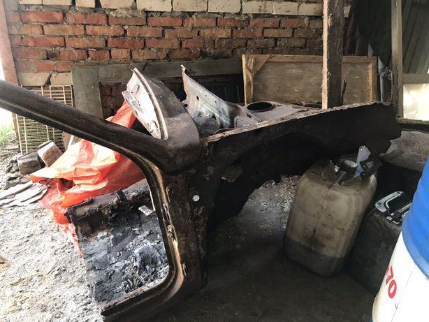 ВАЗ 21099 після пожежі