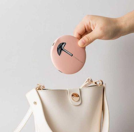 Зеркало косметическое Xiaomi Jordan Judy Handheld Light Mirror Pink