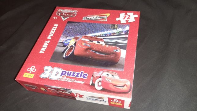 Trefl Puzzle 3d Cars Zygzak McQueen