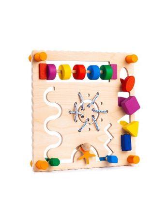 Drewniana tablica manipulacyjna Montessori NOWA