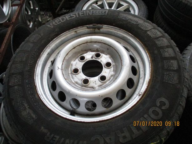 kolo zapasowe Mercedes Sprinter 235/65/16c 6x130