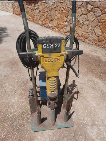 BOSCH GSH 27 PROFESSIONAL convertido para 230v