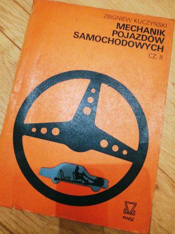 Książka Mechanik pojazdów samochodowych cześć 2