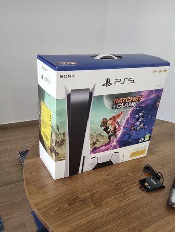Playstation 5 com 2 Jogos Nova