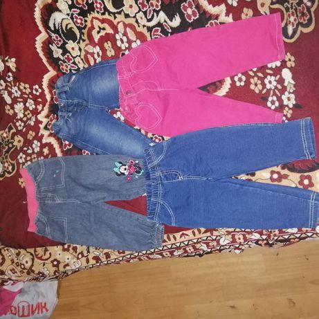 Деские штаны и комбинезоны