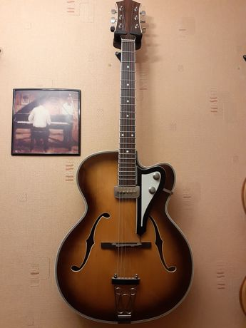 Musima. Gitara jazzowa. Zamienię.