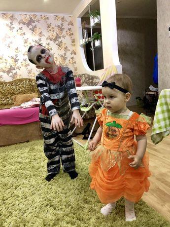 Костюм тыковки на Хеллоуин 2