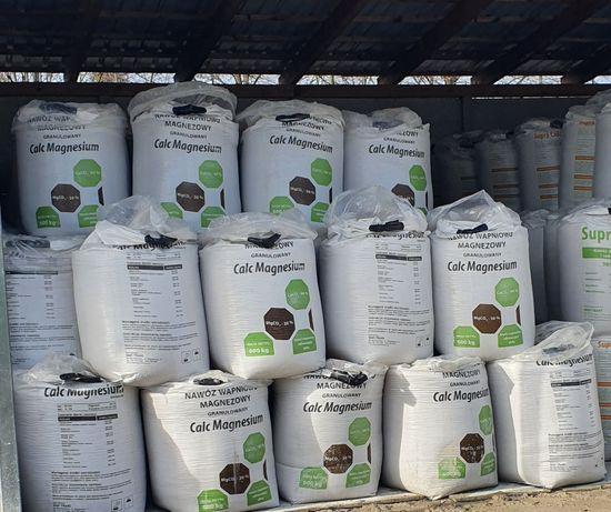 Wapno granulowane kredowe magnezowe nawozowe