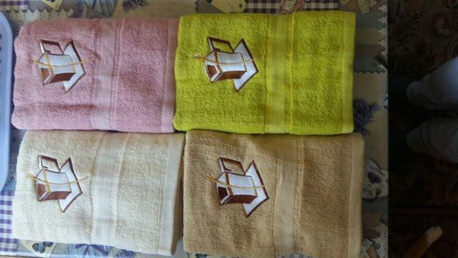 новые полотенца махровые 75см*135см