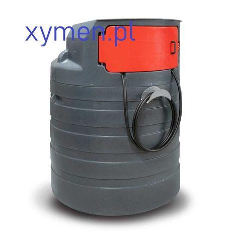 Zbiornik na olej napędowy 1500l dwupłaszczowy