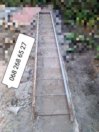 Лестница металлическая 4.30х60, стремянка, высота,