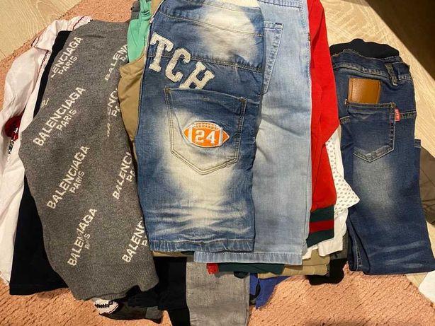 Куртка,джинсы, костюм,шорты   рост 128