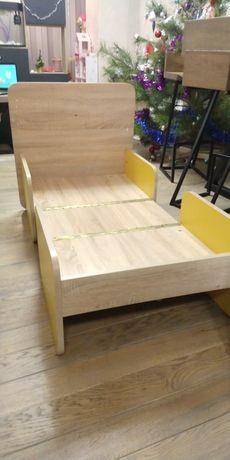 Кроватка детская столик трансформер