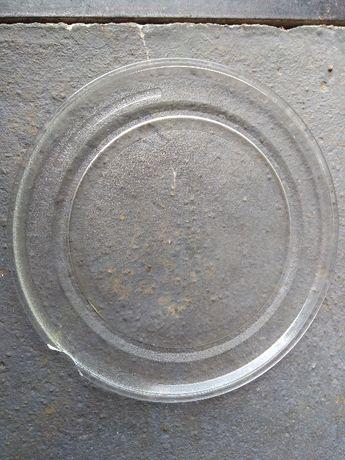 Talerz szklany i prowadnica do kuchenki mikrofalowej