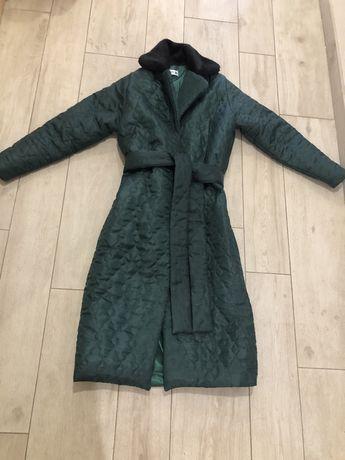 Новое пальто mango куртка пуховик демисезон