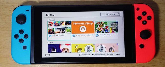 Konsola Nintendo Switch V2 stan BDB