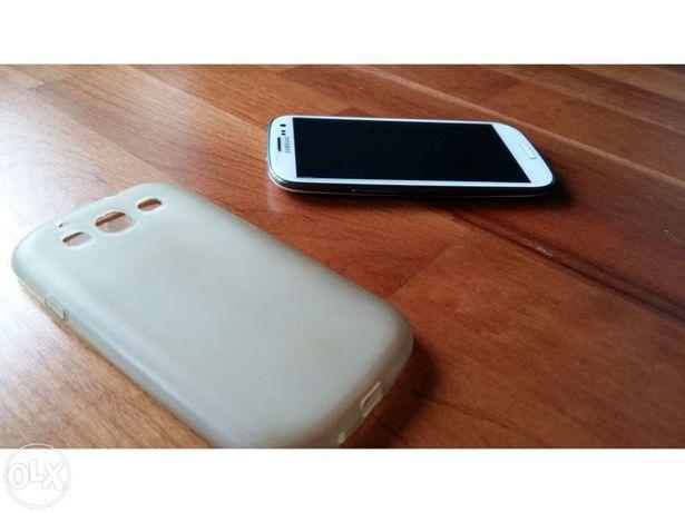 Capa protectora Transparente baça - Samsung S3