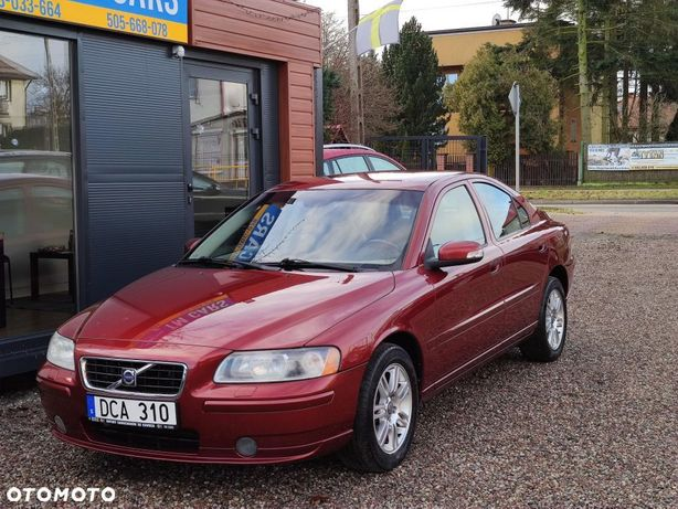 Volvo S60 2.4 Benzyna + CNG ( gaz ziemny ) Momentum Import Szwecja Mały Przebieg