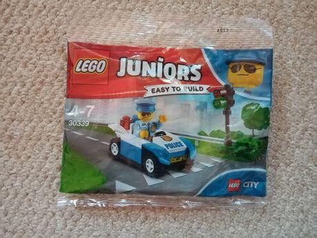 Nowe klocki Lego City Juniors Policja polybag