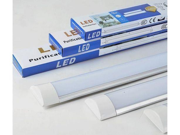 Lampa led 120w 120cm 230v warsztatowa ledowa