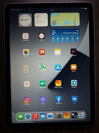 Мoщный iPаd Air 4 , 256 Gb ., iOS 15 , плaншeт Applе 256 Гб.!