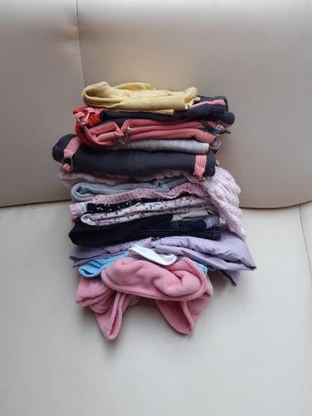 Zestaw ubrań dla dziewczynki 86