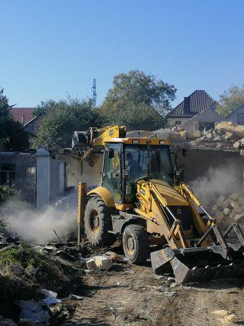 Демонтаж домов, дач, заборов, гаражей, демонтажные работы