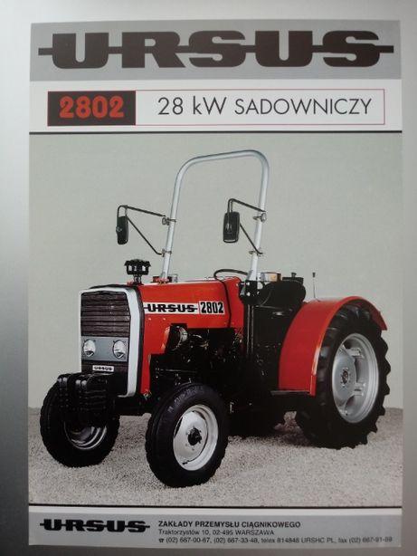 Prospekt URSUS 2802 sadownik