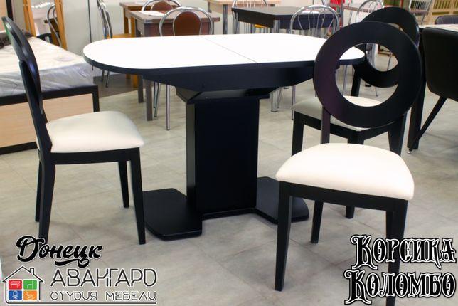 """Обеденный раскладной стол из пластика Fenix на кухню """"Корсика"""""""