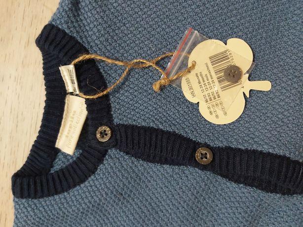 Nowy sweterek chlopiecy 86/92
