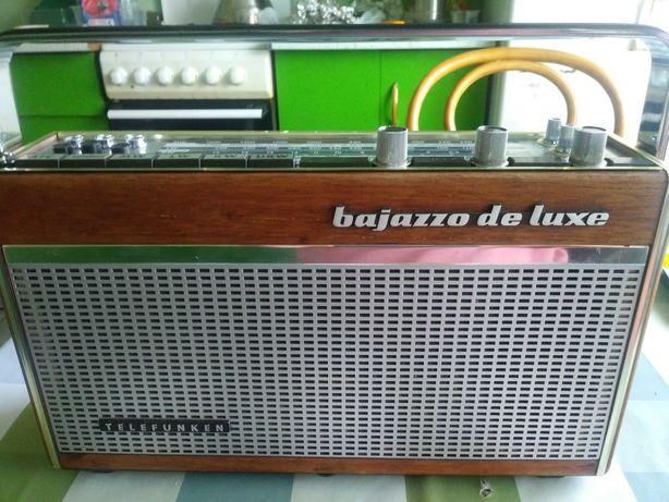Radio 1966/67r. Telefunken bajazzo de luxe 101 Działa!!!