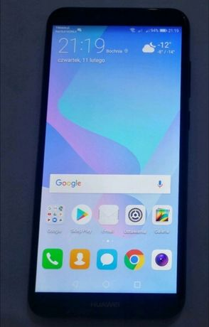 Huawei y6 2018 android