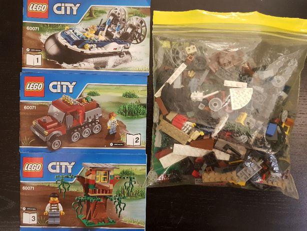 Używane LEGO 60071, Wielkie Zatrzymanie Lego City