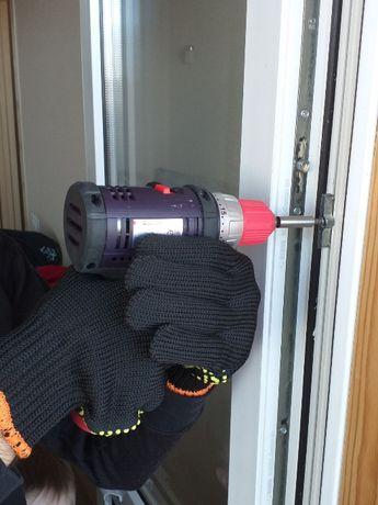 Ремонт, регулировка окон и дверей, Замена стеклопакетов