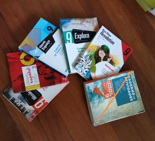 Cadernos de atividades 9° ano