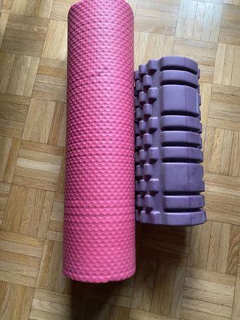 Mata i roller/wałek do ćwiczeń