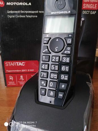 Цифровой беспроводной телефон Моторола, новый!