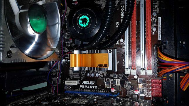 Материнская плата / Материнка Asus P5P43TD Soket/ Сокет 775 DDR3 1600+