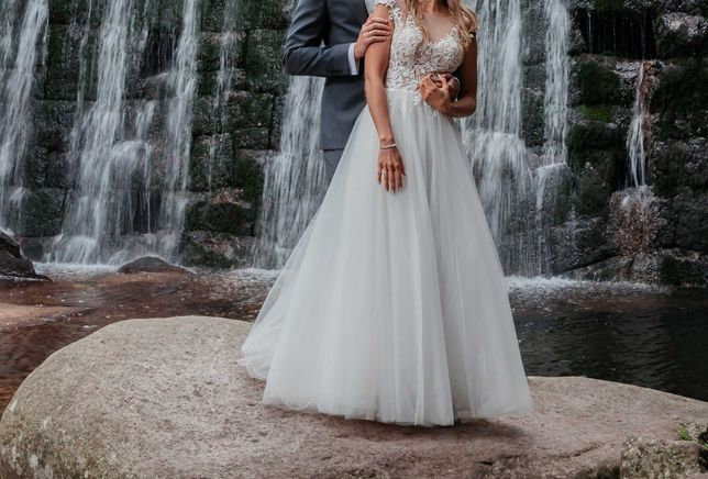 Suknia ślubna Anna Sposa, Loka 34 36