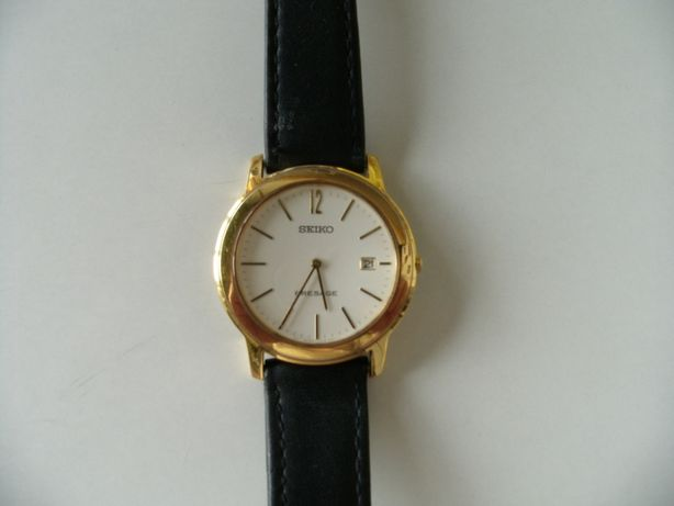 Relógio Seiko Presage plaqué or