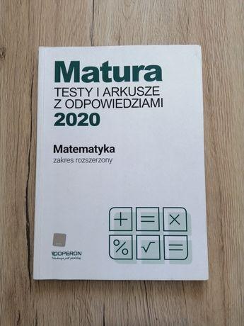 Matura testy i arkusze z odpowiedziami 2020