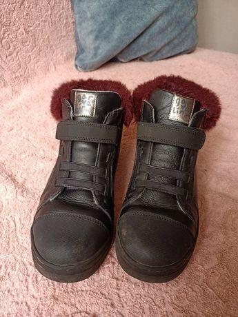 Ботинки кожаные, garvalin