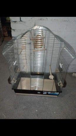Duża klatka dla papugi, kanarka