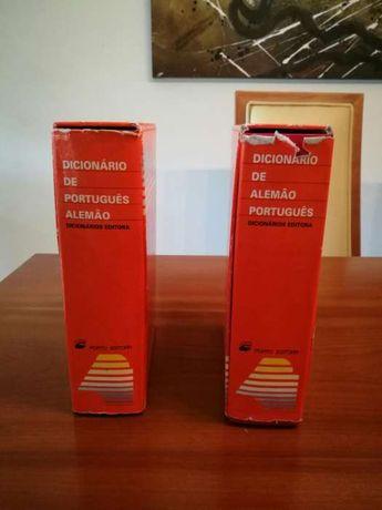 Dicionarios Port/ Alemão e Alemao/Portugues