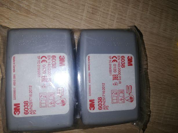 Filtry przeciwpyłowe 3m 6038