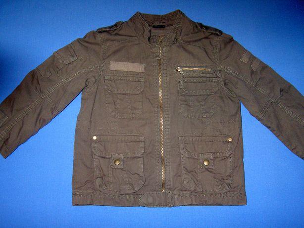 Wiosenna, jesienna kurtka, jeansowa katana dla chłopca 3-4 lata