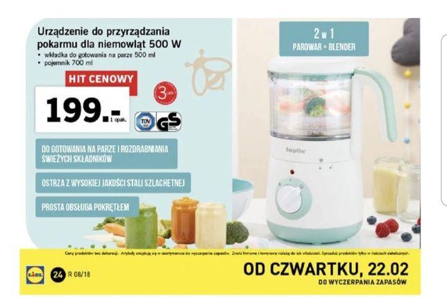 NOWE Urządzenie do przyrządzania pokarmu dla dzieci i niemowląt