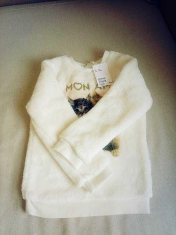 Свитшот, свитер, кофта (флисовый) H&m