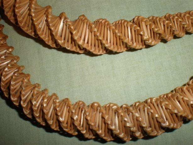 Ободок на голову(обруч) из натуральной соломки.